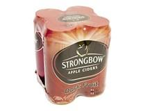 Strongbow cider dark fruit 4x400 PLECH