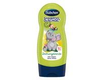 Bübchen Kids Partička z džungle 2v1 šampón na vlasy a sprchovací gél 1x230 ml