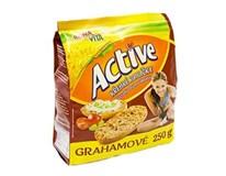 Bonavita Active krehké rohlíčky grahamové 1x250 g