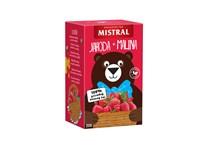 Mistral Jahoda a malina ovocný čaj 3x44 g