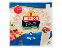 Mission Original Wraps Fresh&Soft chlad. (6ks) 1x370 g