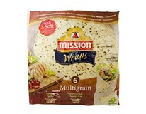 Mission Multigrain Wraps Fresh&Soft chlad. (6ks) 1x370 g
