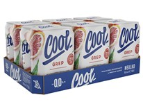 Staropramen Cool pivo nealkoholické grep 24x500 ml PLECH