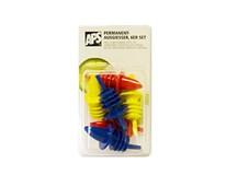 Výlevka farebná plast APS 6ks