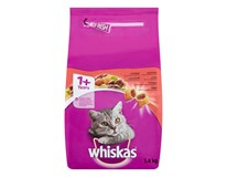 Whiskas granule s hovädzím mäsom pre mačky 1x1,4 kg