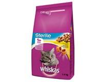 Whiskas Sterile granule s kuracím mäsom pre mačky 1x1,4 kg