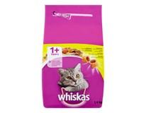 Whiskas granule s kuracím mäsom pre mačky 1x1,4 kg