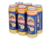 Smädný mních pivo 10° 6x550 ml PLECH
