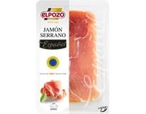Elpozo Jamón Serrano sušená šunka plátky chlad. 1x60 g