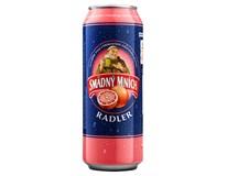 Smädný mních pivo radler grep 4x500ml PLECH