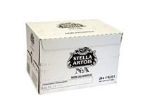 Stella Artois pivo nealkoholické 24x330 ml SKLO