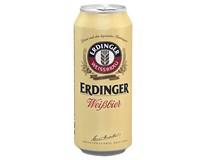 Erdinger pivo svetlé 5,3% 4x500 ml PLECH