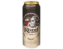 Velkopopovický Kozel pivo tmavé 6x4x500 ml PLECH