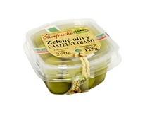 Olivy zelené Castelvetrano 260/125 chlad. 1x1 ks