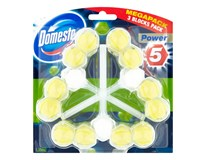 Domestos Power 5 Lime WC blok 3x55 g