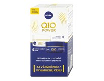 Nivea Q10 denný a nočný krém proti vráskam balenie 2x50 ml