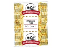 McCain Hranolky Steakhouse Fries mraz. 1x2,5 kg
