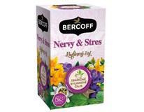 Bercoff Nervy a stres bylinný čaj 3x30 g