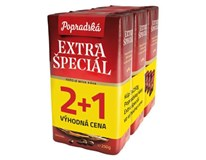 BOP Extra Špeciál káva mletá 3x250 g