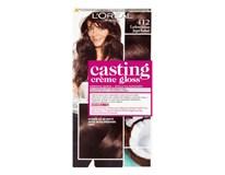 L'Oréal Casting Creme Gloss farba na vlasy 412 ľadové kakao 1x1 ks
