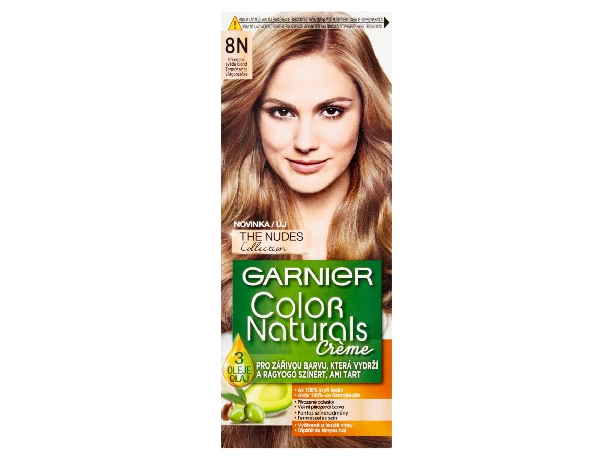 Garnier Color Naturals Farba Na Vlasy Nudes 8n Svetla Blond 1x1 Ks