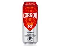 Corgoň pivo 10° 6x500 ml PLECH