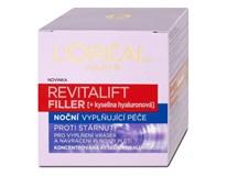 L'Oréal Revitalift filler nočný krém 1x50 ml