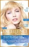 L´Oreal Excellence farba na vlasy 01 blond ultra svetlá 1x1 ks