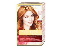 L'Oréal Excellence farba na vlasy 7.43 blond medená zlatá 1x1 ks
