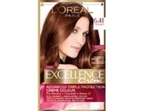 L´Oreal Excellence farba na vlasy 6.41 hnedá oriešková 1x1 ks