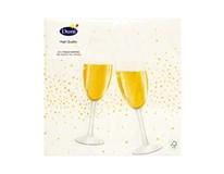 Servítky papierové Cheers 3-vrstvové 33cm Duni 20ks