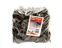 Lyžica čierna plastová Quickpack 100ks
