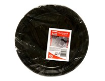 Tanier plastový čierny 24cm Quickpack 20ks