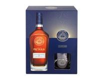 Metaxa 12* 40% 1x700 ml + 2 poháre