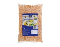Horeca Select Hrach žltý polený lúpaný slovenský 1x5 kg