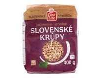 Fine Life Jačmenné krúpy stredné slovenské 1x400 g