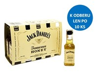 Jack Daniel´s Honey 35% whisky 1x50 ml (min. obj. 10 ks)