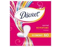 Discreet pantiliners normal plus dámske vložky 1x60 ks