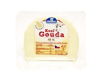 Milko Polabské mlékárny Gouda kozia syr 48% bloček chlad. 1x200 g