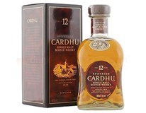 Whisky Cardhu 12 y.o. 40% 1x700 ml
