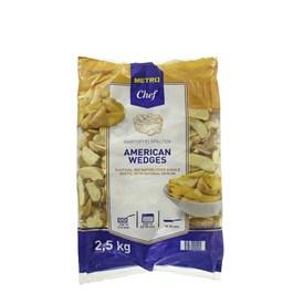 Metro Chef American Wedges americké zemiaky mraz. 1x2,5 kg