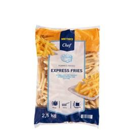 Metro Chef Hranolky Express fries mraz. 1x2,5 kg