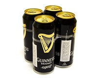 Guinnes pivo tmavé 4,1% 4x400 ml PLECH