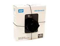 WD My Elements Portable 1,5TB 2,5'' USB 3.0 black externý pevný disk 1ks