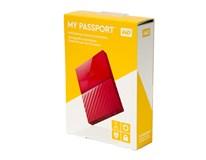 WD My Passport 1TB 2,5' USB 3.0 red externý pevný disk 1ks