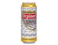 Urpiner pivo 10° 6x500 ml PLECH