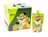 Kubík 100% Ovocná kapsička banán a jablko 12x100 g