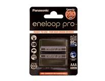 Batérie nabíjacie AAA Eneloop Pro Panasonic 2ks