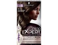 Schwarzkopf Color Expert 4-0 chladná hnedá farba na vlasy 1x1 ks