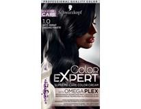 Schwarzkopf Color Expert 1-0 výdatna čierna farba na vlasy 1x1 ks
